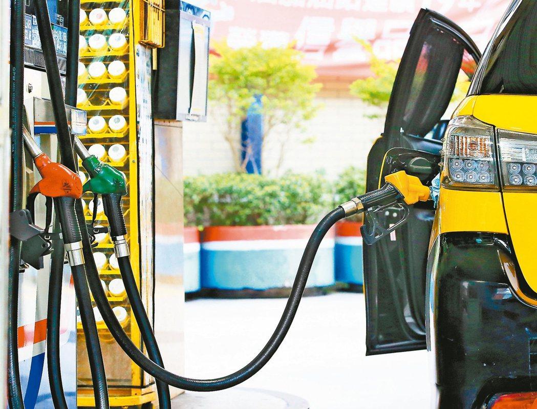 調整後的參考零售價格分別為92無鉛汽油每公升22.4元、95無鉛汽油每公升23....