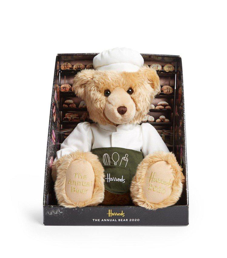 Harrods 2020年度精裝熊「Baker」,2,180元,全台限量240隻...