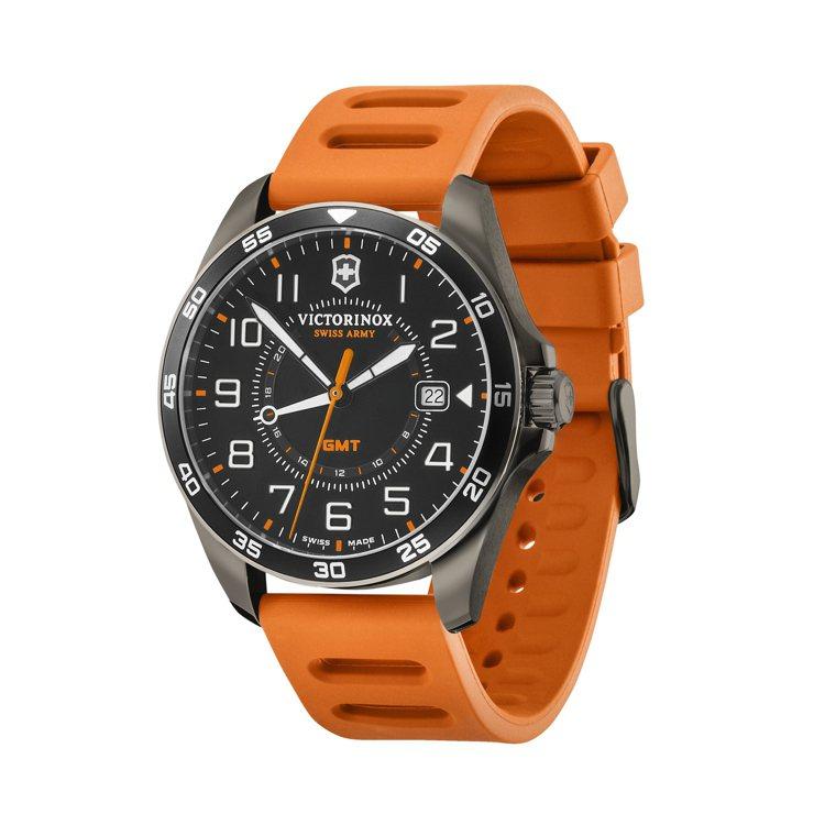 Victorinox FieldForce系列GMT腕表,不鏽鋼表殼16,000...