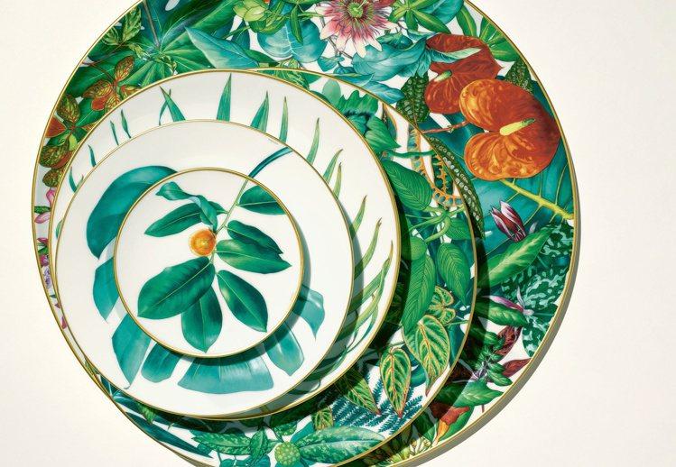 愛馬仕即將推出「Passifolia」餐瓷系列。圖/愛馬仕提供