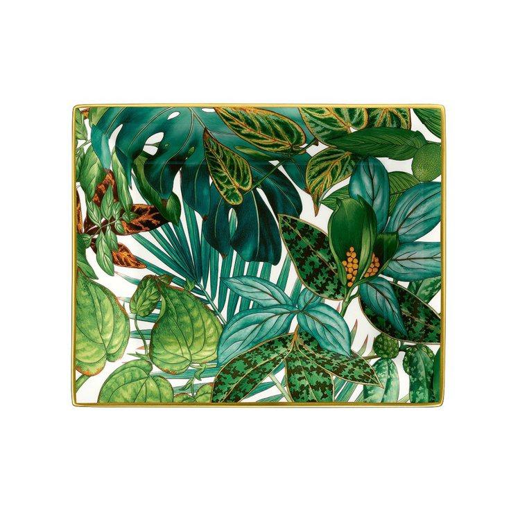 Passifolia系列餐瓷置物盤,22,520元。圖/愛馬仕提供
