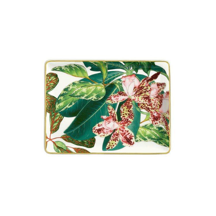Passifolia系列餐瓷小瓷盤,9,010元。圖/愛馬仕提供