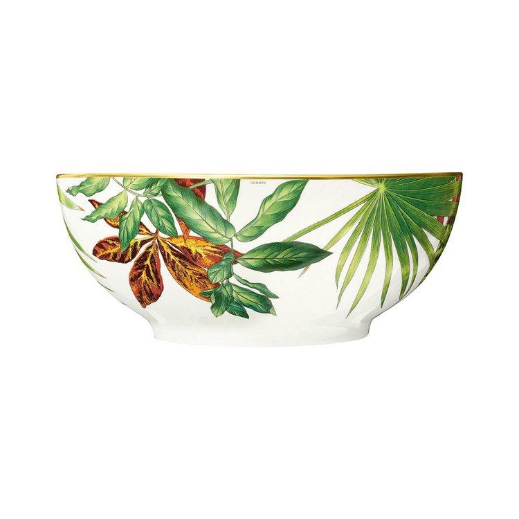 Passifolia系列餐瓷小沙拉碗,30,580元。圖/愛馬仕提供