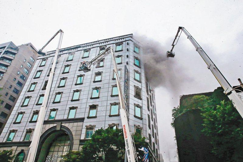 錢櫃KTV大火燒出6死悲劇。圖/聯合報系資料照片