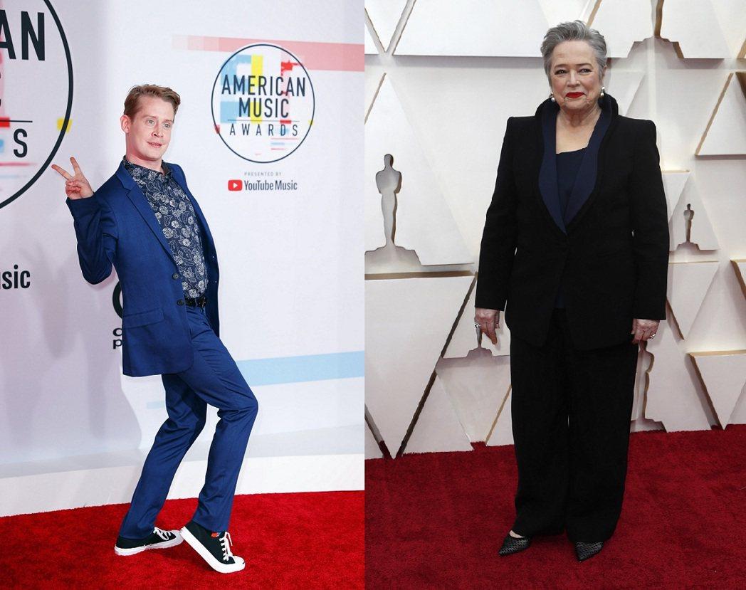 即將邁向40歲的麥考利克金(左)被傳將在新戲與年過70的凱西貝茲有瘋狂性愛場面。...