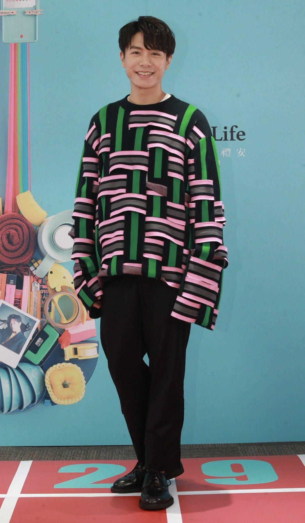 韋禮安暌違4年推出新專輯「Sounds of My Life」。記者黃義書/攝影