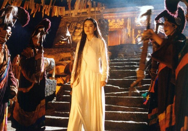 「白髮魔女傳」即將在台重新推出。圖/摘自HKMDB