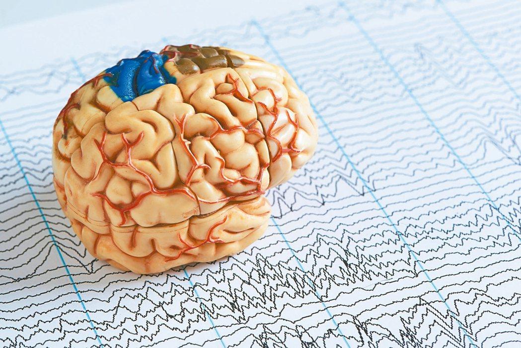 癲癇屬於腦部不正常放電的現象,因腦細胞受到干擾侵犯受傷。 圖/123RF