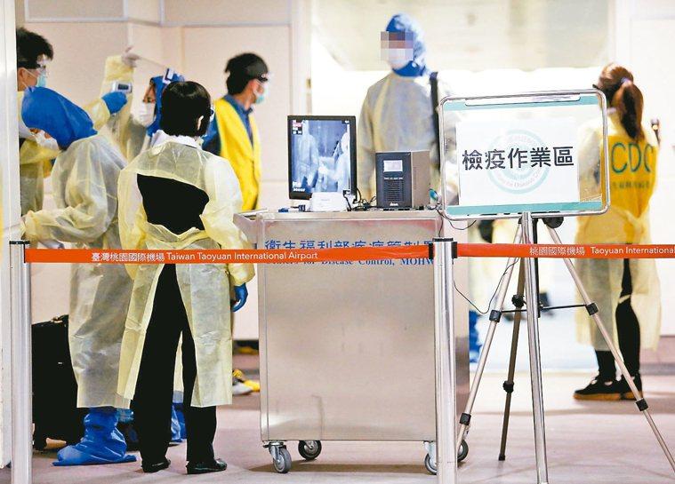 記取SARS的經驗,台灣公衛體系採取早期部署、接觸追蹤與隔離、嚴格境管的作法,有...