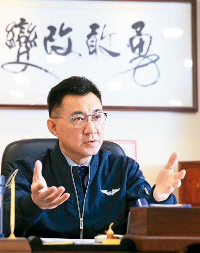國民黨中央已正式成立反罷韓因應小組,黨主席江啟臣並親自坐鎮指揮,協助化解罷韓危機。 圖/聯合報系資料照片