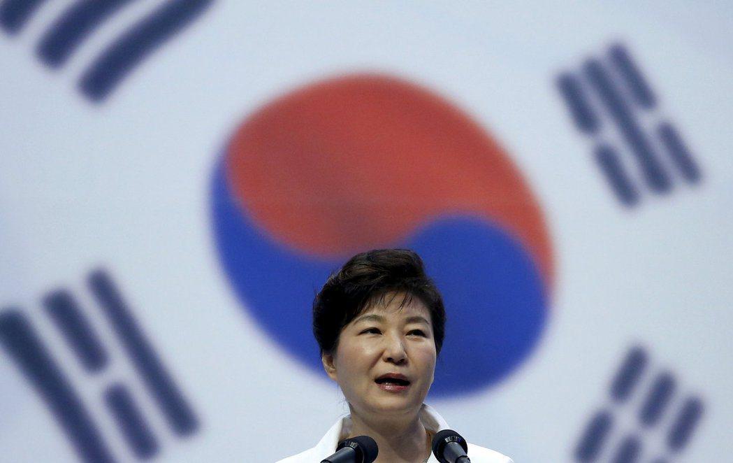 南韓前總統朴槿惠當選後,國內男女不平等的情況反而更嚴重。 圖/路透社