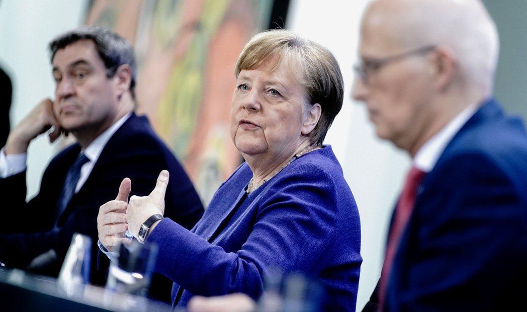 德國目前雖有約15萬人染疫,但死亡率較周邊國家低。 圖/路透社