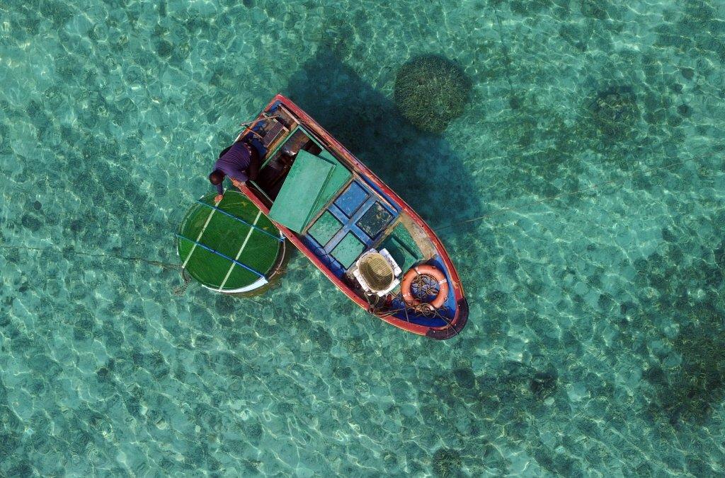 地方政府針對願意前往南海周邊海域長期作業,甚至佔住無人島礁的海上民兵提供額外補助。 圖/新華社