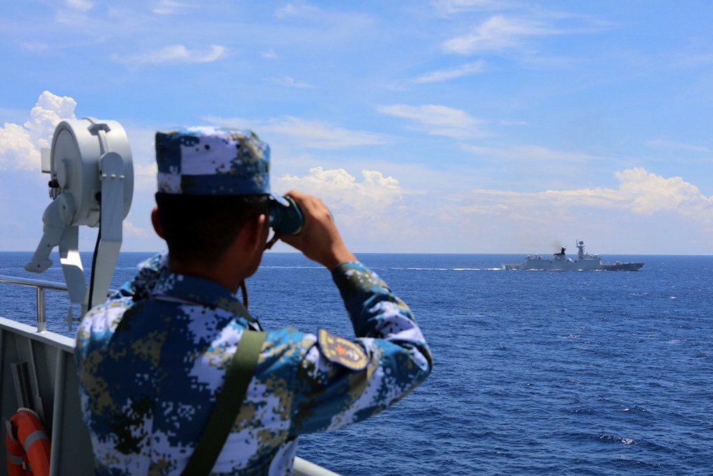 中共海上民兵還已成為中共海警和漁政船之外的第三勢力。 圖/中新社