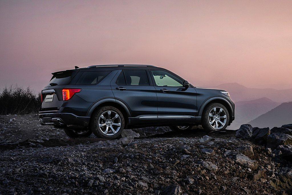 日前傳出長安福特已經開始量產全新第六代Ford Explorer之後,原廠也終於...