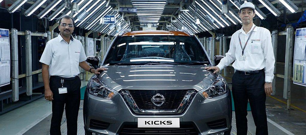 印度日前推出2020年式Nissan Kicks,外觀不僅延續現有設計,還將導入...