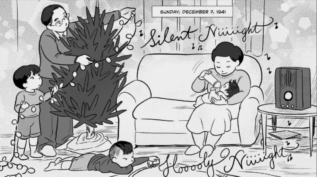 1941年12月7日,武井一家人正為即將到來的聖誕假期做準備,但是,原先正播放節...