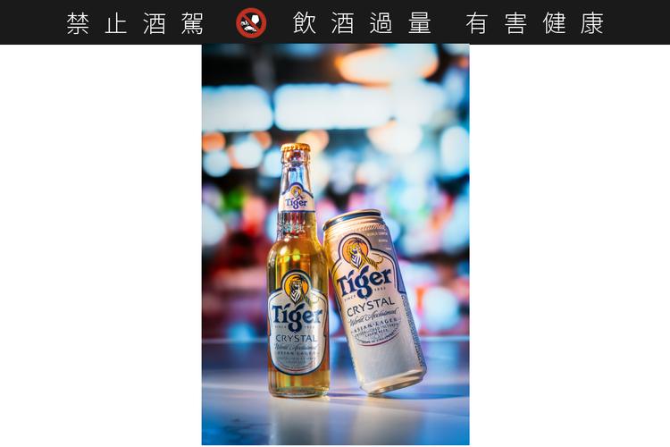 虎牌冰釀啤酒推出三種容量,此為600ml瓶裝與485ml大罐裝。 圖/虎牌啤酒提...