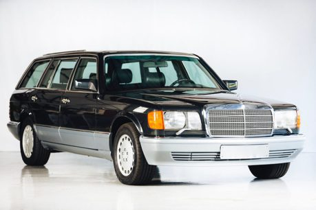 1990年的Mercedes-Benz 560 TEL多了一節?竟是輛原廠沒出的旅行車!