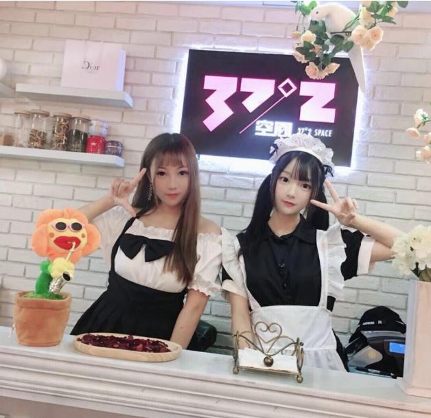 網紅的「37°2空間女僕公館」上海旗艦店6日開幕。環球網