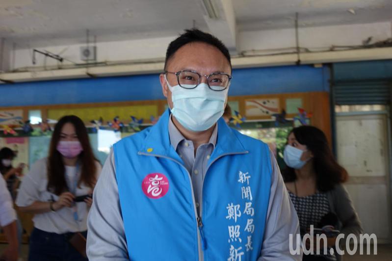 有關韓國瑜要選黨主席的傳聞,高雄市新聞局長鄭照新今天表示都是「空穴來風」、「子虛烏有」。記者楊濡嘉/攝影