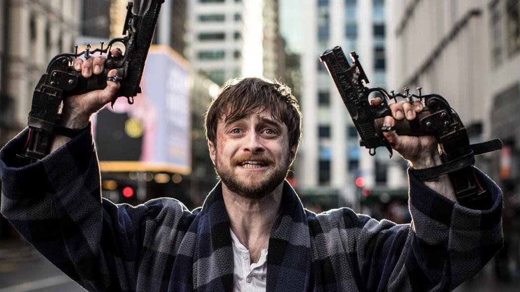 《玩命Online:雙槍對決》丹尼爾曾酗酒,新片突破形象。捷傑提供