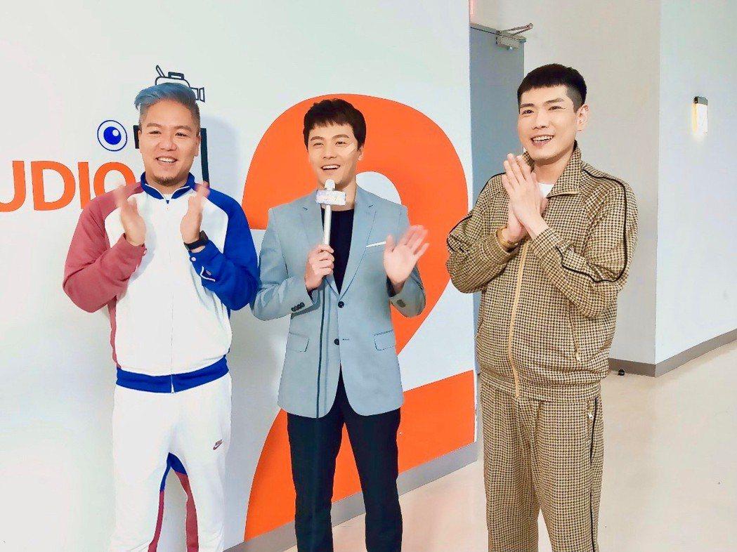黃文星接受「娛樂超skr」節目訪問。圖/民視提供