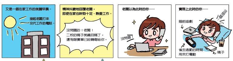 幹勁。圖/編輯小姐Yuli