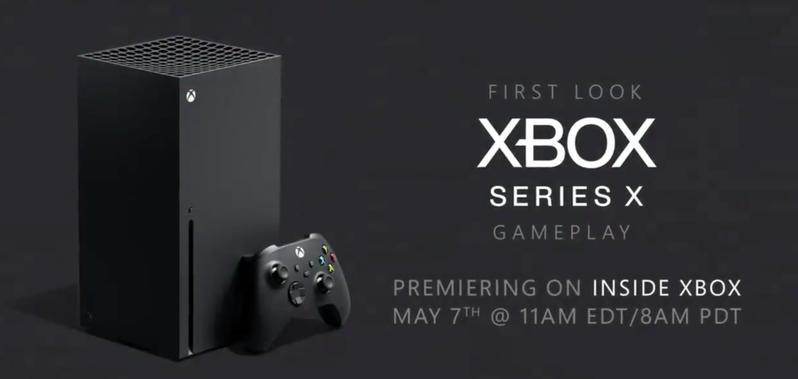 微軟即將推出的次世代主機Xbox Series X。圖擷自twitter