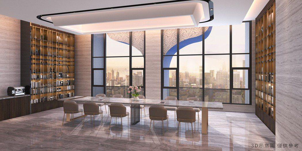3D示意圖僅供參考。圖片提供/京城建設集團