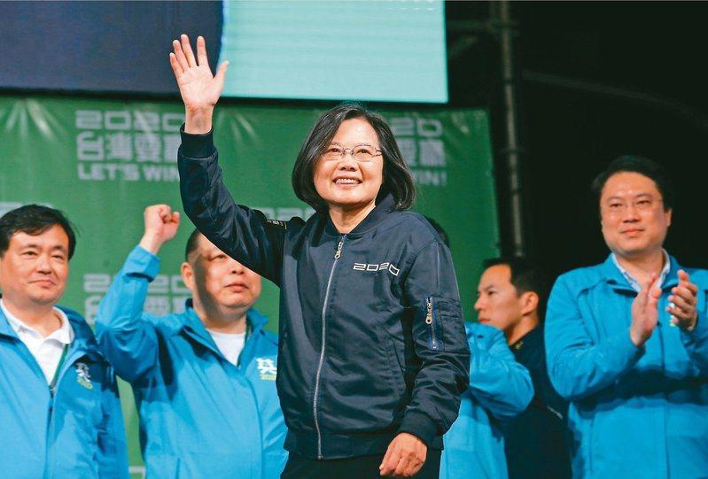 蔡賴520就職簡單隆重為主,總統致詞必談台灣防疫。本報資料照片