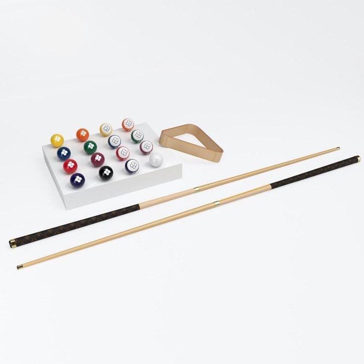 路易威登推出撞球桌。圖/取自slnofficial.com