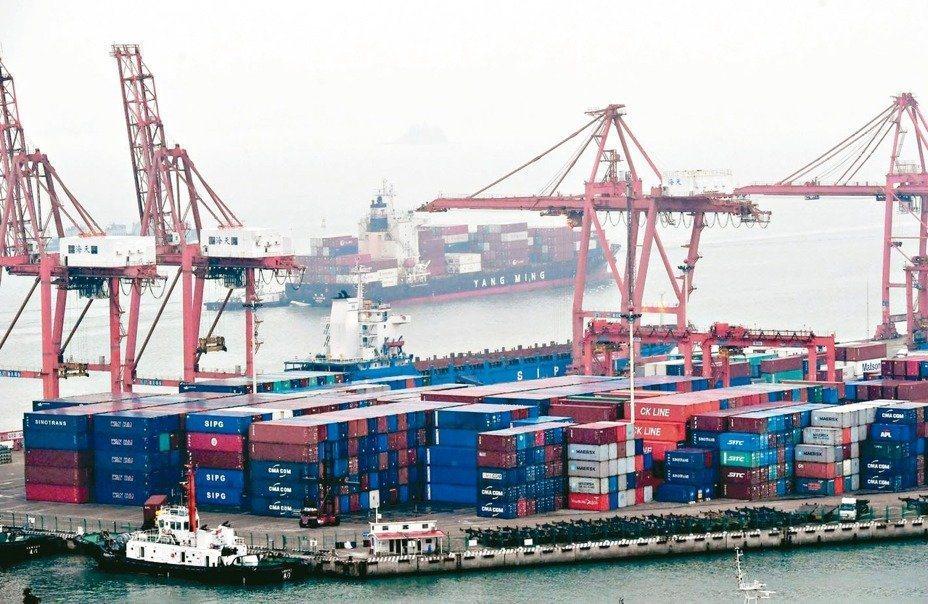 大陆今年前四个月对东协的出口逆势增长3.9%。(中新社)