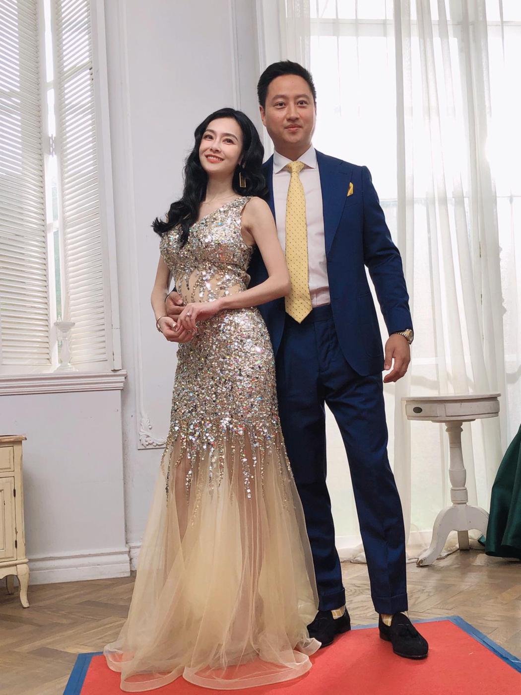 王思佳與老公Joe婚後首次同台。圖/源鑛娛樂提供