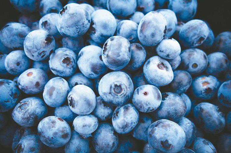藍莓護心、穩定血糖 圖/123RF、pixabay