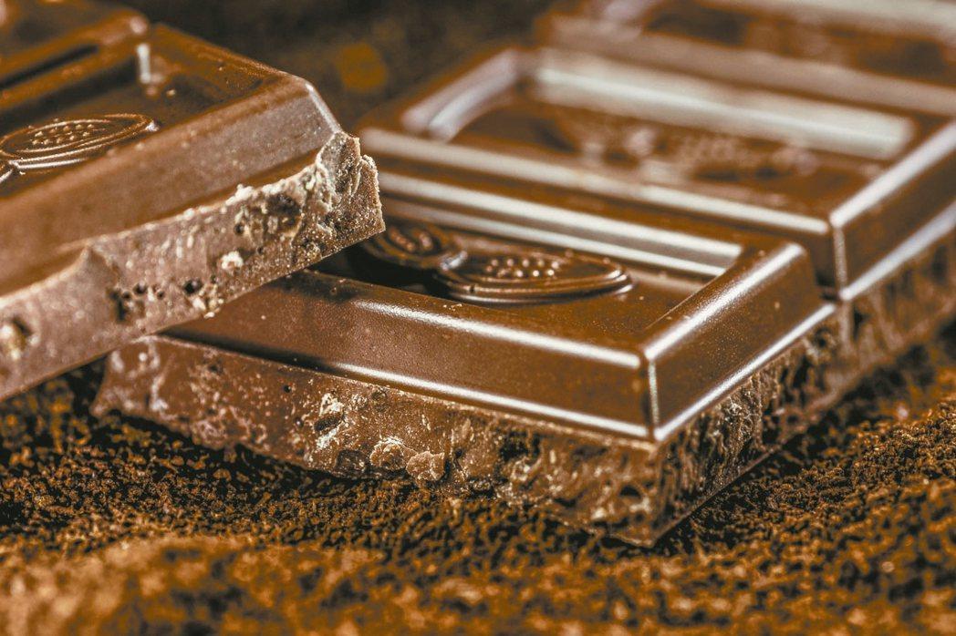 黑巧克力保護心臟 圖/123RF、pixabay