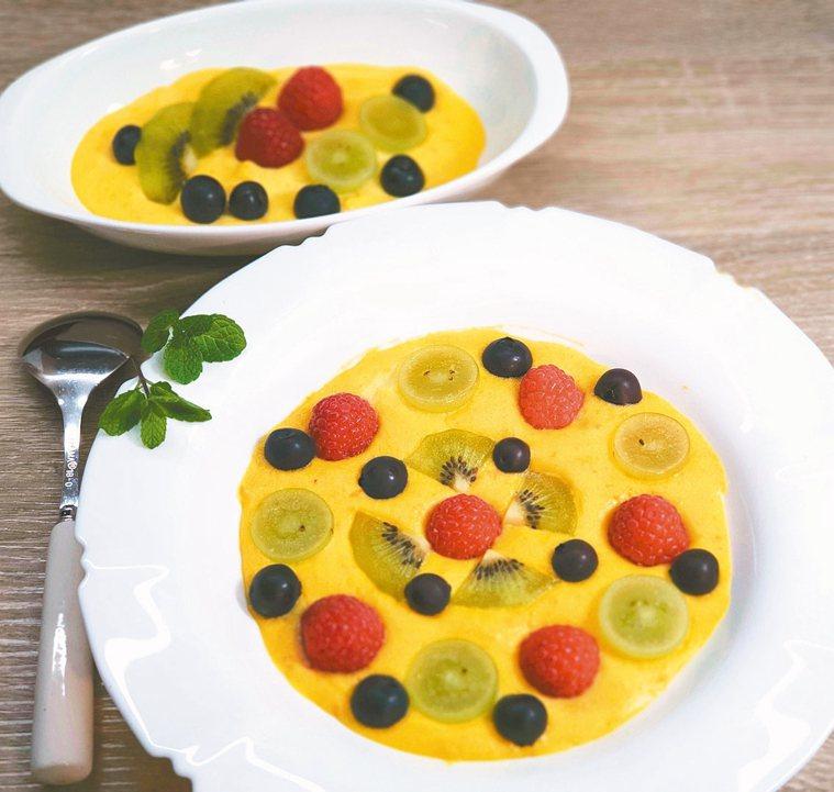 莓果烘焙地瓜卡士達醬 (3人份)