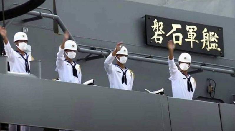 敦睦艦隊染疫事件,磐石艦共有35人染病。 本報資料照