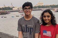 14歲印度女神童8間名校搶著要! 哥哥11歲時拿3個副學士學位