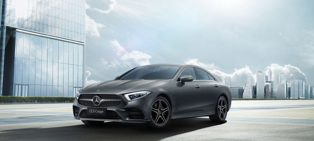 Mercedes-Benz CLS Coupe。 摘自Mercedes