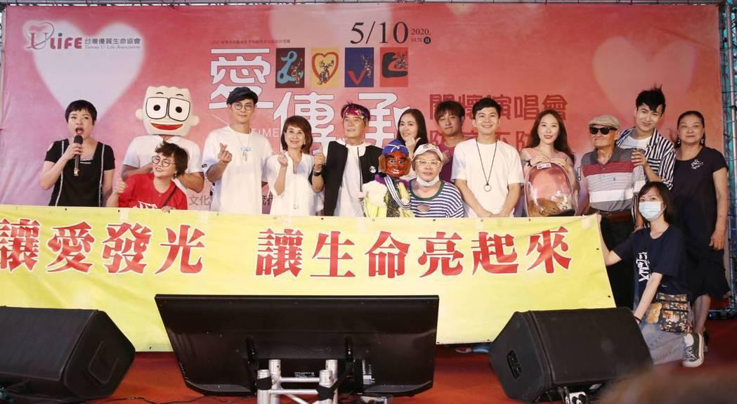 汪東城與資深藝人、網紅為公益發聲。記者曾原信/攝影