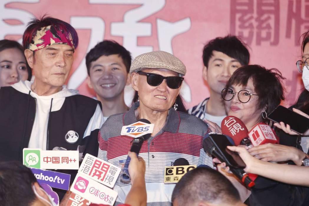 李炳輝對於現況仍不忘把知足掛在嘴邊。記者曾原信/攝影