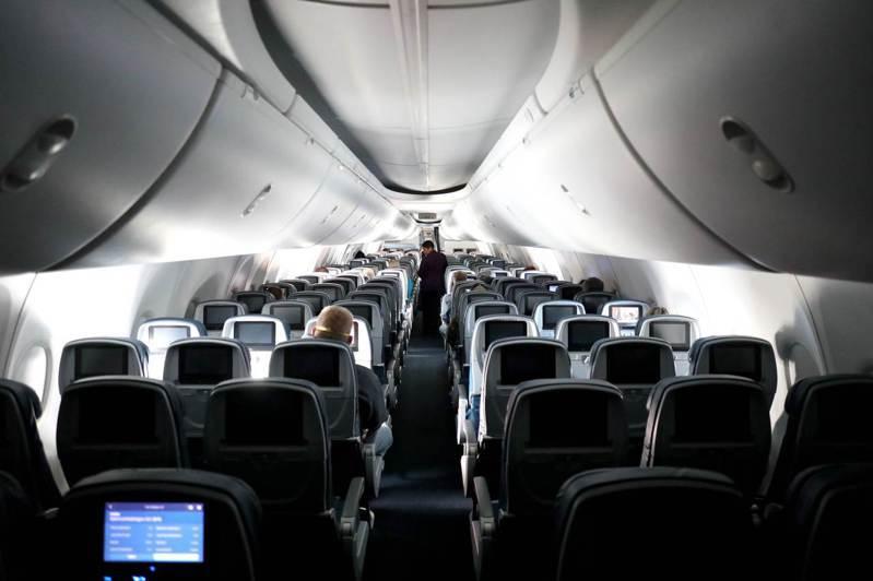 即使目前因新冠肺炎疫情導致旅客銳減,航空公司仍會為了重要旅客而照常飛行。法新社