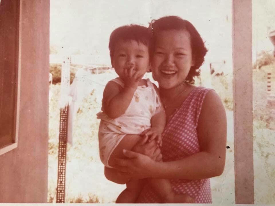 涂晨洋从小和妈妈感情特别好。 图/水舞演艺提供