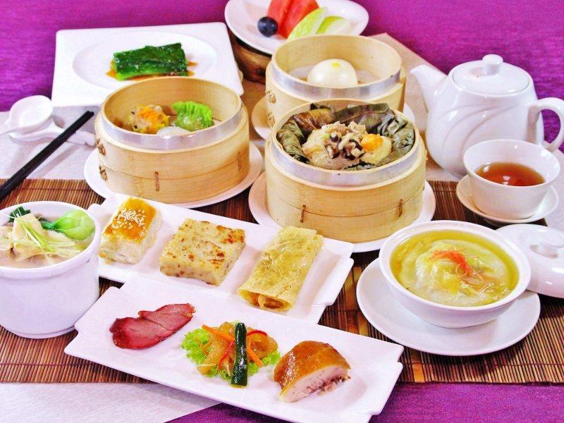 台北天成大飯店3樓翠庭中餐廳的美味港點,素有口碑。 業者/提供