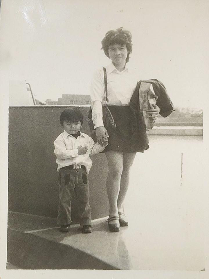 媽媽帶著我到大同水上樂園,明明年紀很小,但卻是深刻記得曾到此一遊。 圖/Jack...
