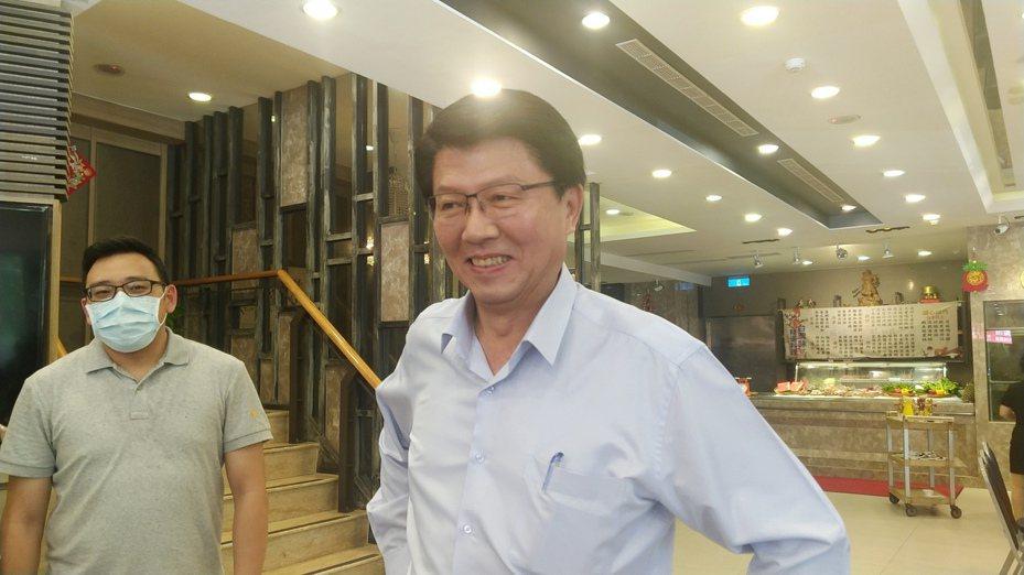 国民党台南市议员谢龙介。记者蔡孟妤/摄影