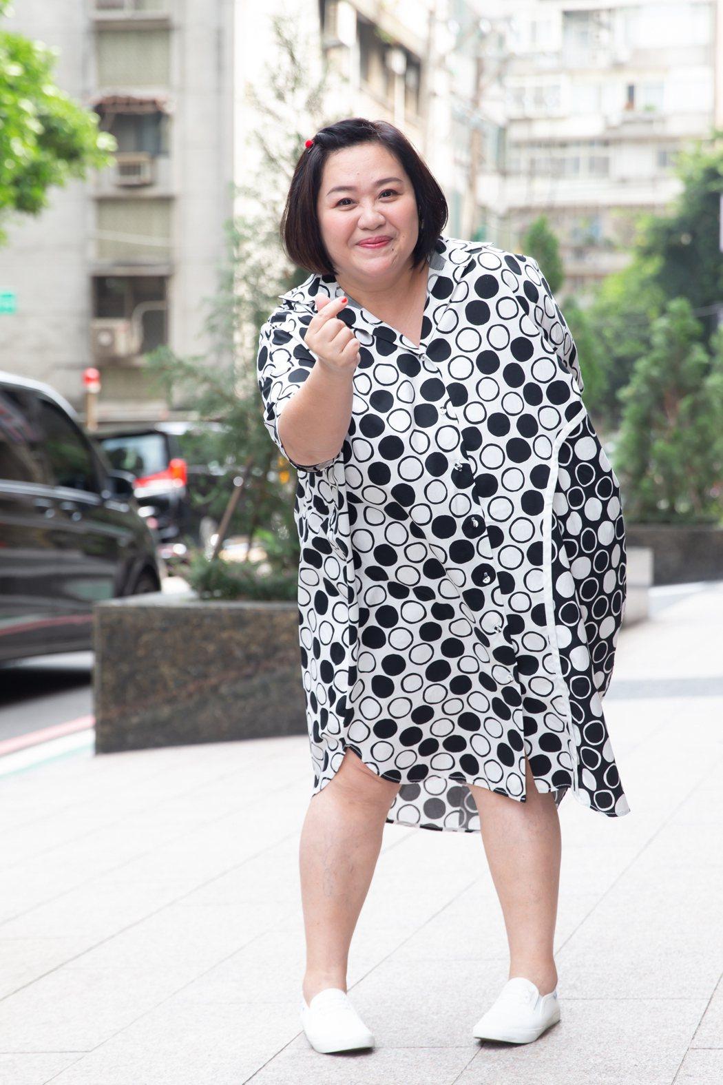 鍾欣凌笑稱自己會是苦毒媳婦的婆婆。記者季相儒/攝影