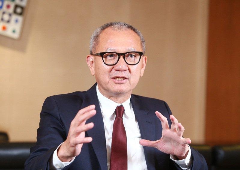 國巨宣布與台灣銀行等22家行庫,完成簽訂五年期新台幣485億元聯貸合約。圖為國巨集團董事長陳泰銘。 本報資料照片
