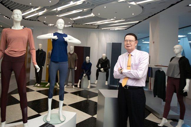 儒鴻董事長洪鎮海。 本報資料照片